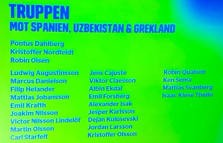 Speltips Sverige - Uzbekistan 5/9 2021